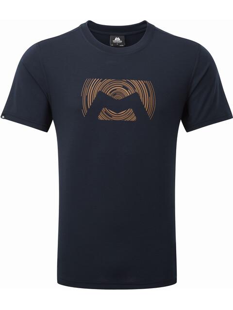 Mountain Equipment M's Groundup Logo+ Tee Cosmos